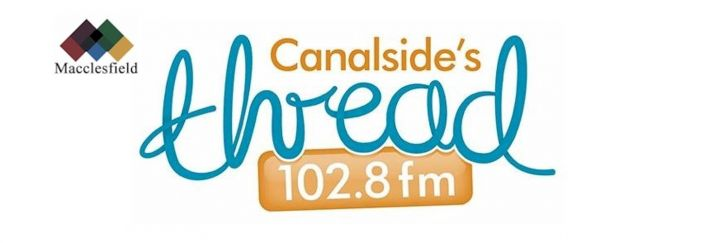 Canalside's The Thread 102.8 branding