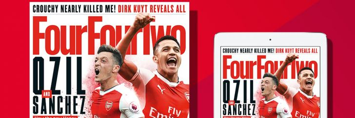 Four Four Two branding