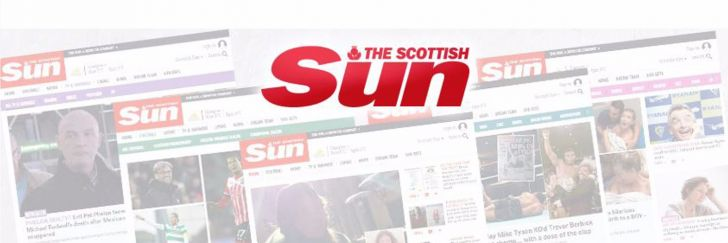 The Scottish Sun branding