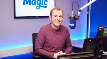Magic radio show for actor and comedian Tom Price
