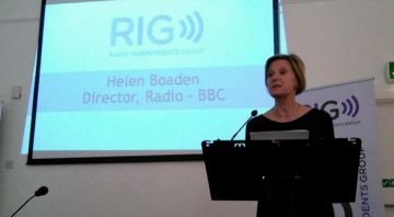 Reaction to Helen Boaden's resignation from the BBC