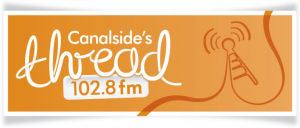 Canalside's The Thread 102.8 logo