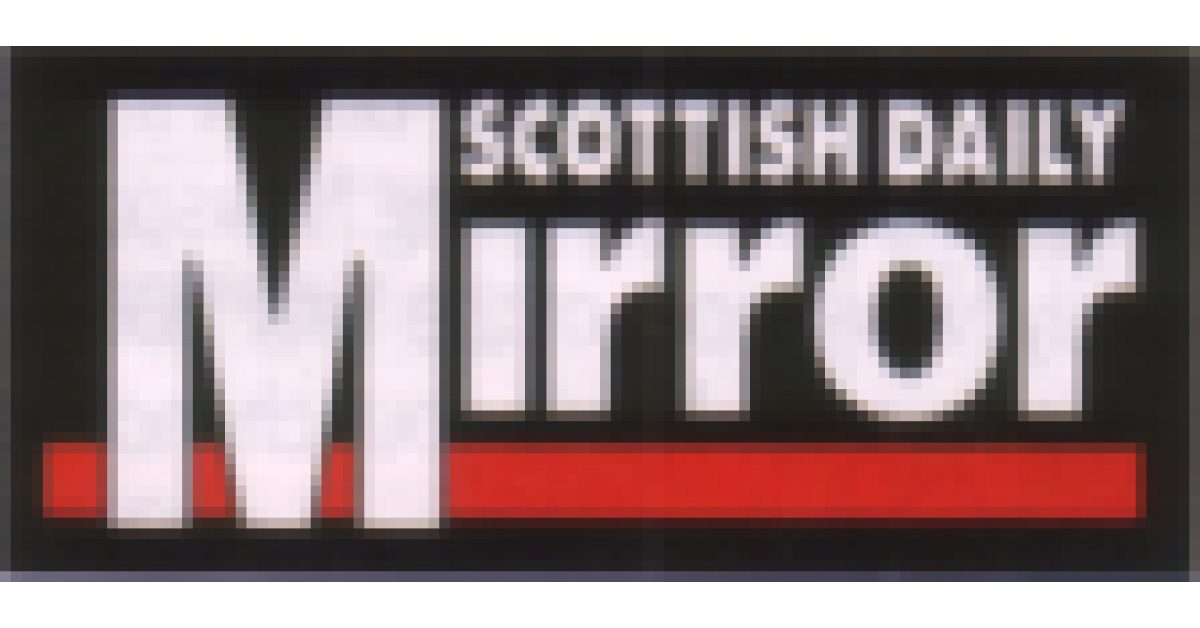 Scottish daily mirror for Sunday mirror