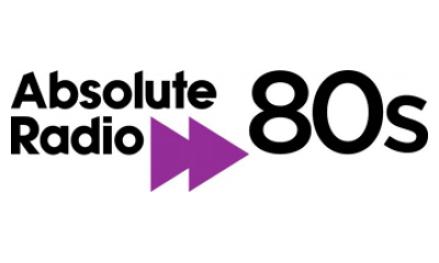 Absolute 80s - logo for VW Infotainment car radio