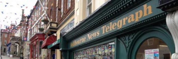 Ashbourne News Telegraph branding