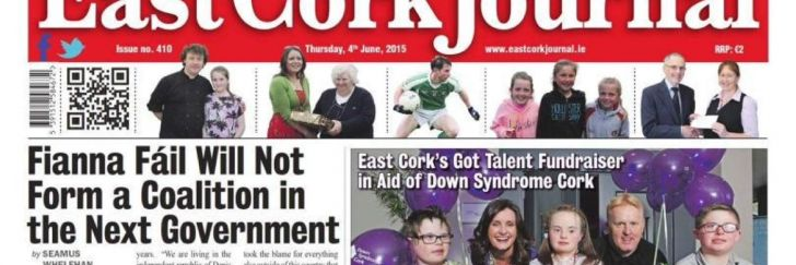 East Cork Journal branding
