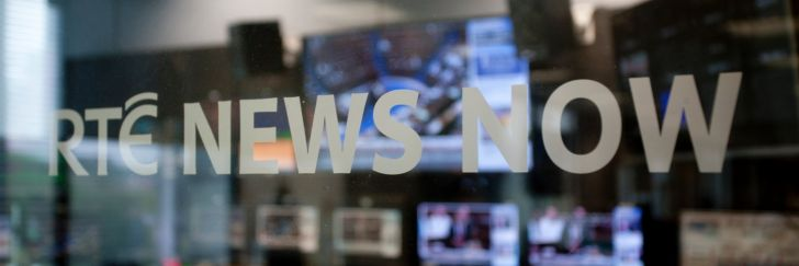 RTÉ News Now branding